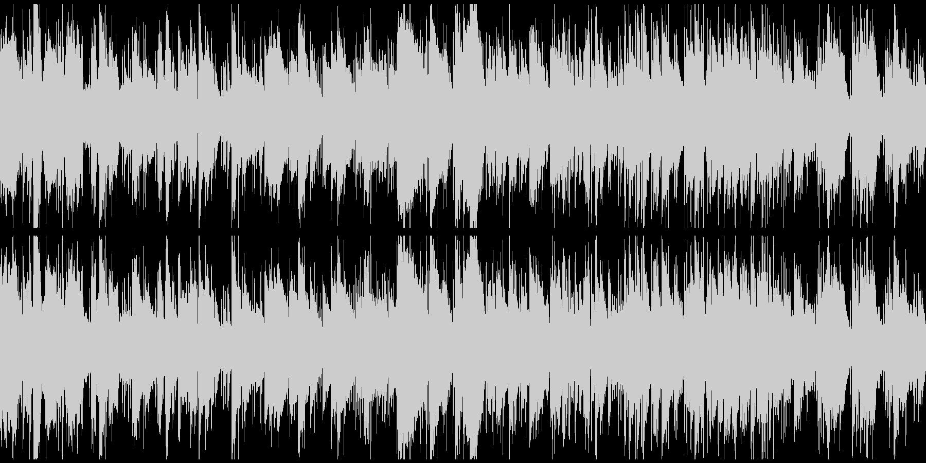 フレッシュなエレピ&サックス ※ループ版の未再生の波形