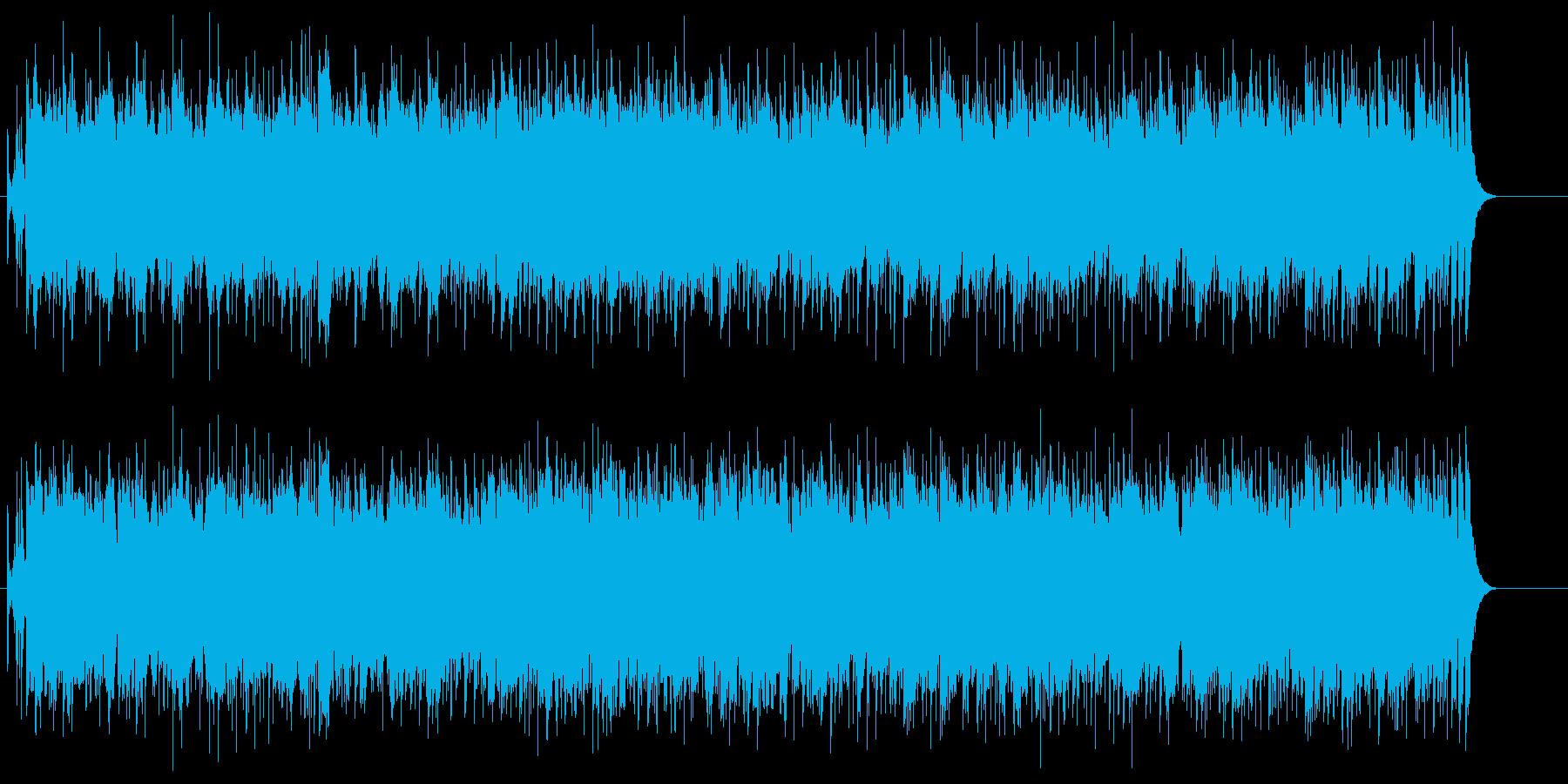歌謡曲アレンジのメッセージソング風の再生済みの波形