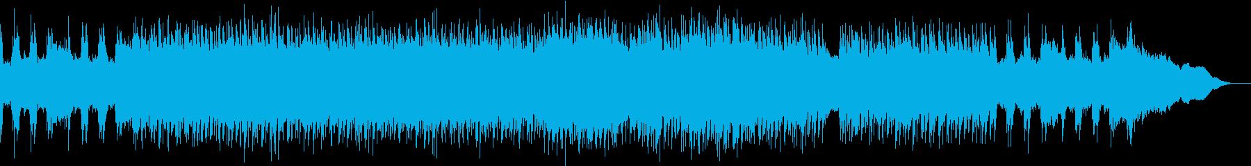 疾走感のあるハモリが特徴のロックの再生済みの波形