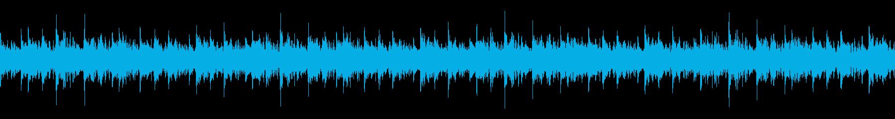 リズム・非常階段・緊迫シーンの再生済みの波形
