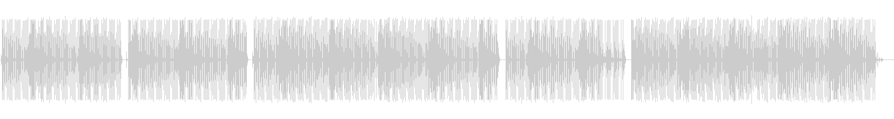 雑談-配信BGM-可愛い8bit-ゲームの未再生の波形