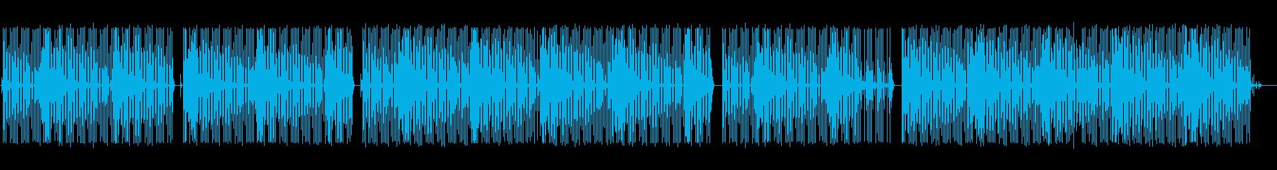 雑談-配信BGM-可愛い8bit-ゲームの再生済みの波形