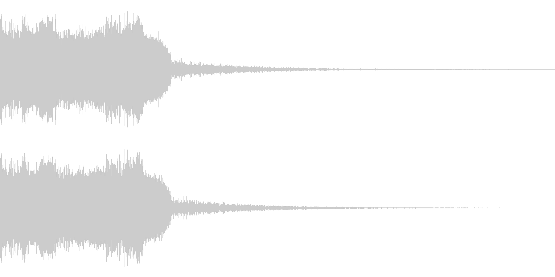 DJFX ヒットチャート発表前SE 20の未再生の波形