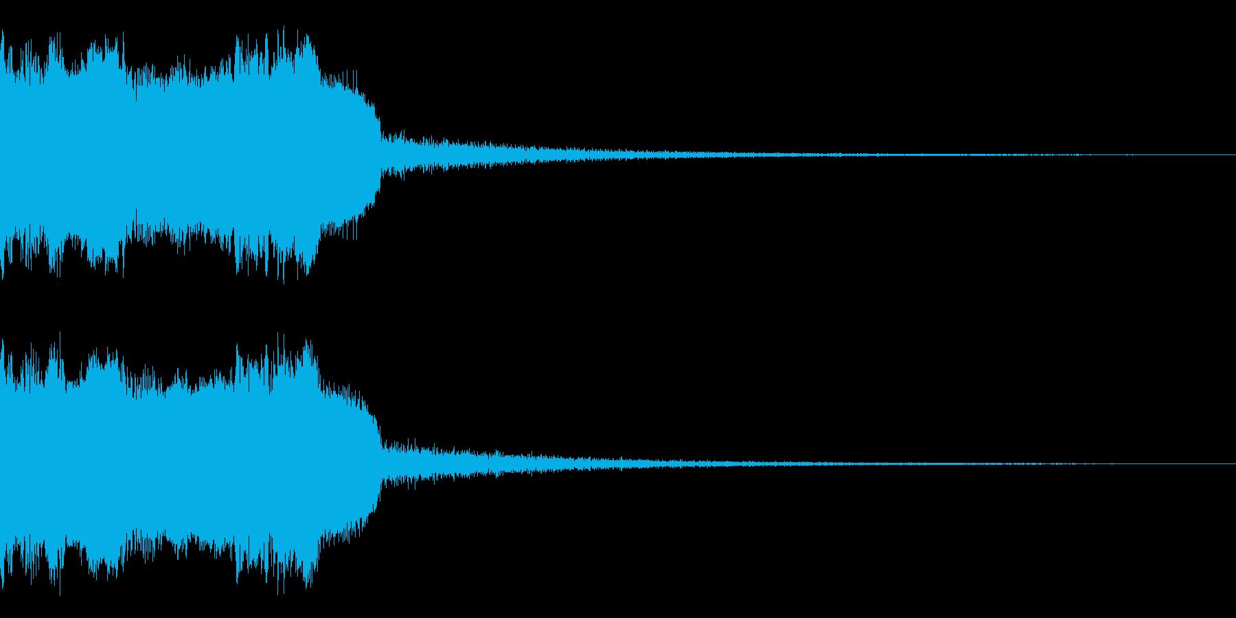 DJFX ヒットチャート発表前SE 20の再生済みの波形