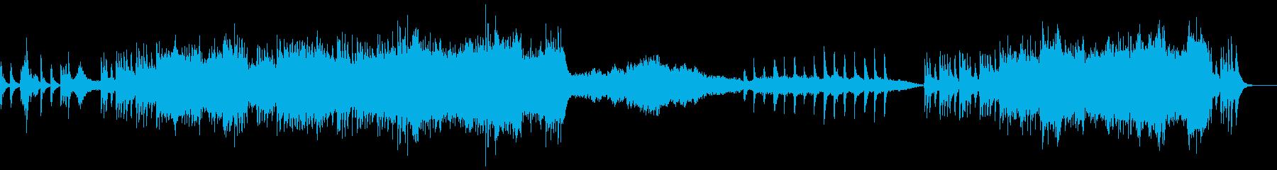 ファンタジックでかわいらしいオーケストラの再生済みの波形