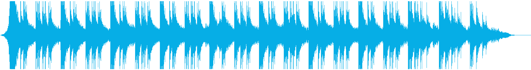 シネマティックお経の再生済みの波形