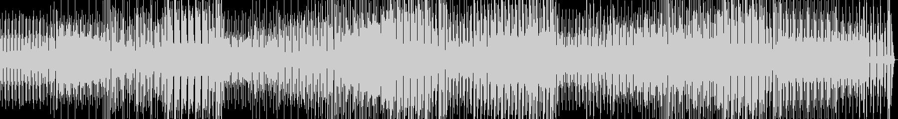 軽快なギターのポップロックの未再生の波形