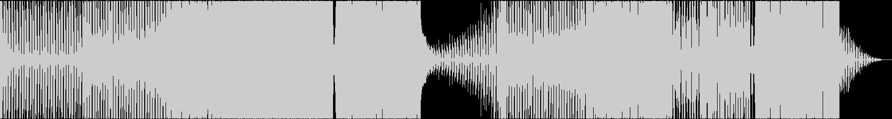Cyberpunk 激しく冷たいシンセの未再生の波形