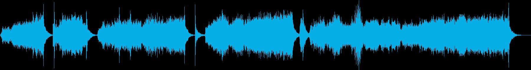 不穏な空気をオーケストラで演出の再生済みの波形