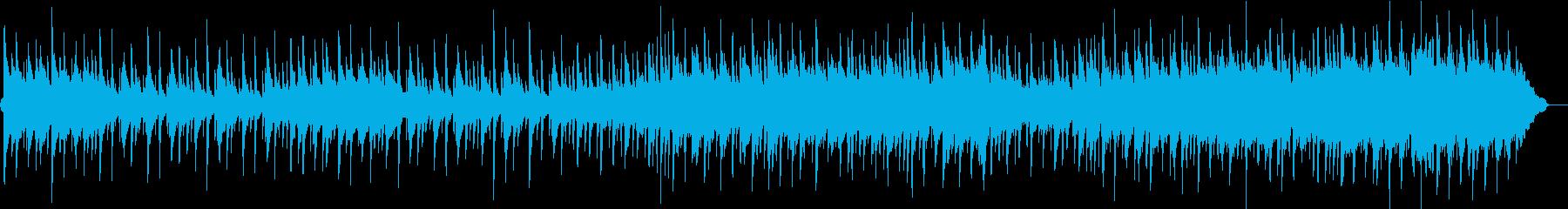 生演奏アコースティックワルツバラードの再生済みの波形