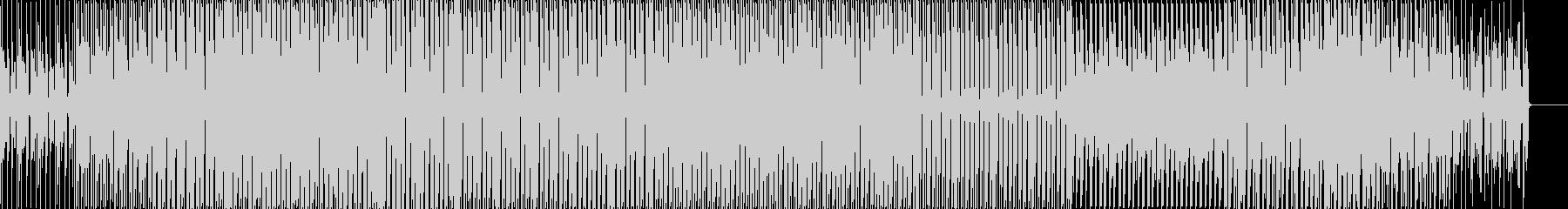 チュートリアル向けな無機質なBGMの未再生の波形