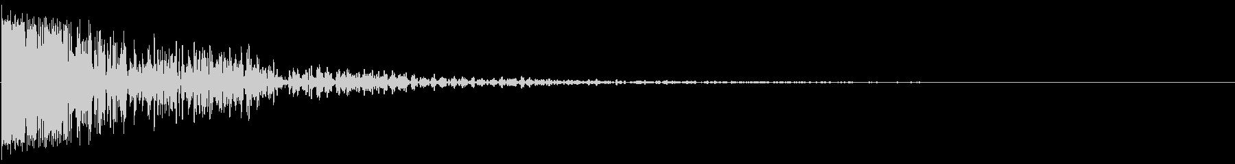SLEDGEHAMMERがDUMP...の未再生の波形