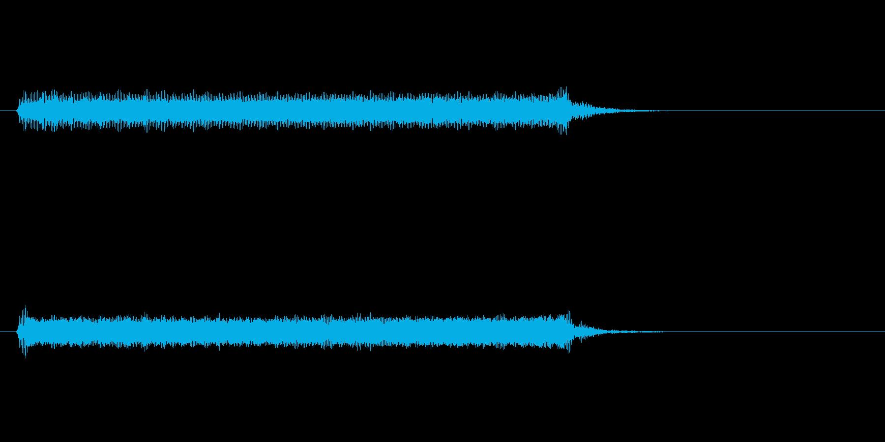 【開演ブザー02-2】の再生済みの波形