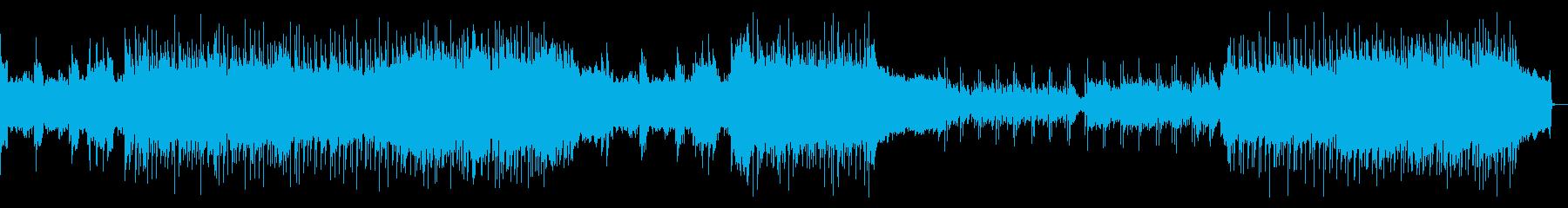 往年のハードロック、メタルの再生済みの波形