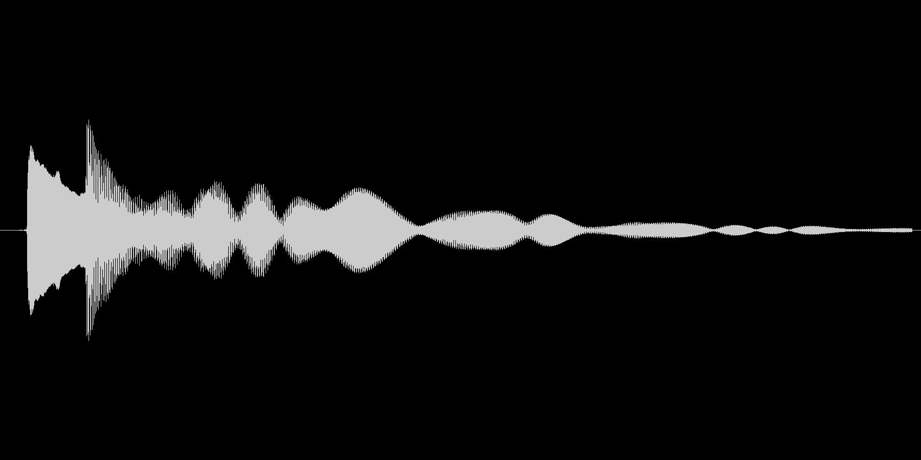 ゲーム、クイズ(ピンポン音)_002の未再生の波形