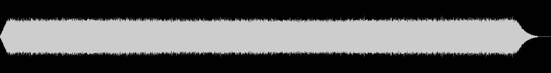 リリリリリリリリ(鈴虫の鳴き声)の未再生の波形