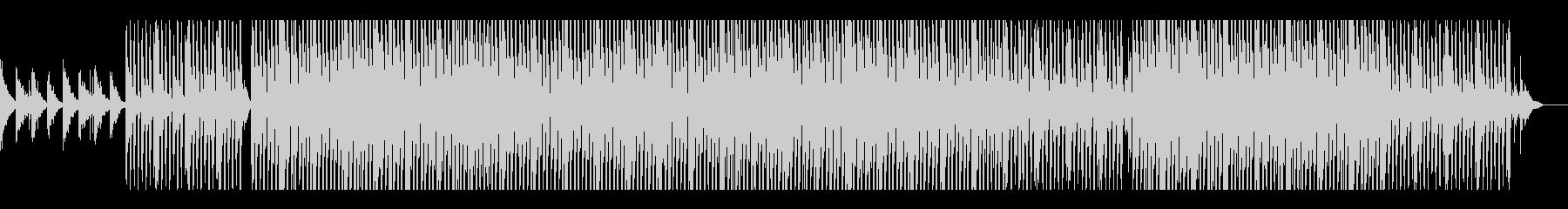 リラックス・さわやかなアコギのテクノの未再生の波形