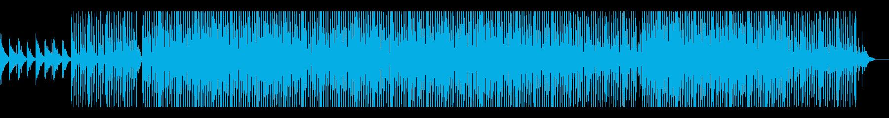 リラックス・さわやかなアコギのテクノの再生済みの波形
