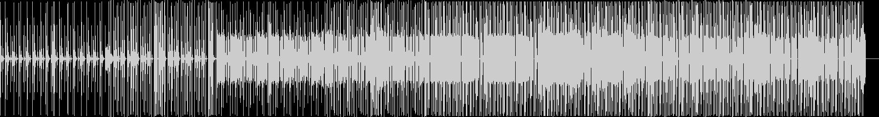 穏やかな曲ですの未再生の波形