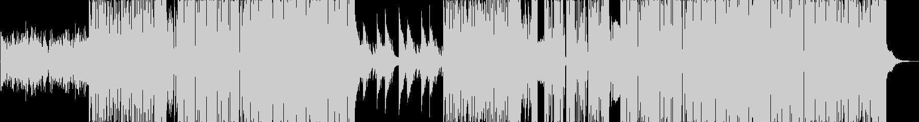 映像作品BGM向けフューチャーベースの未再生の波形