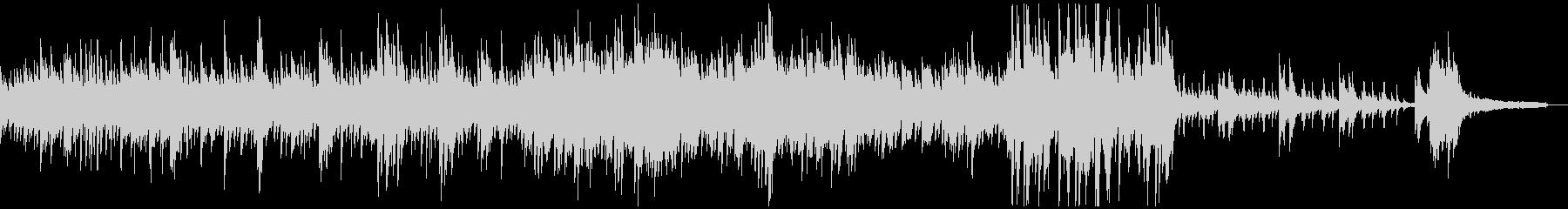 キラキラしたフレッシュなピアノソロの未再生の波形