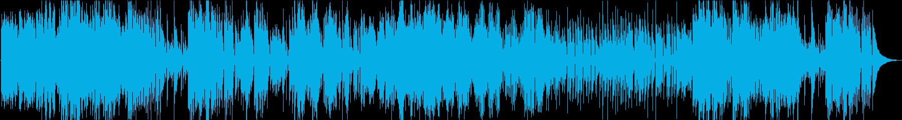 ジャズ。クール。メロディアス。ボサノバ。の再生済みの波形