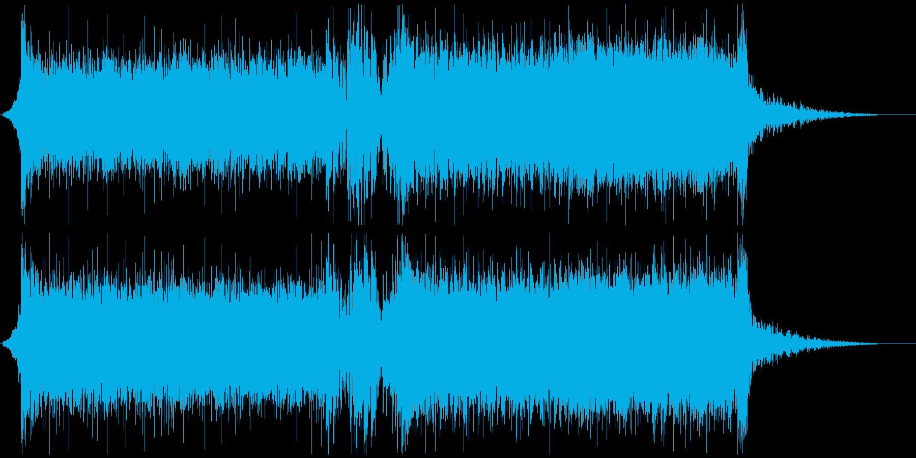 イベント 動画 オープニング かっこいいの再生済みの波形
