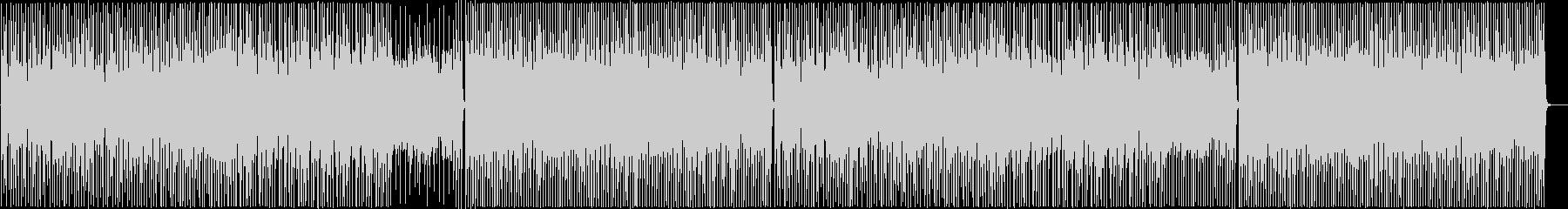 クラップとアコギが可愛く楽しいポップスの未再生の波形