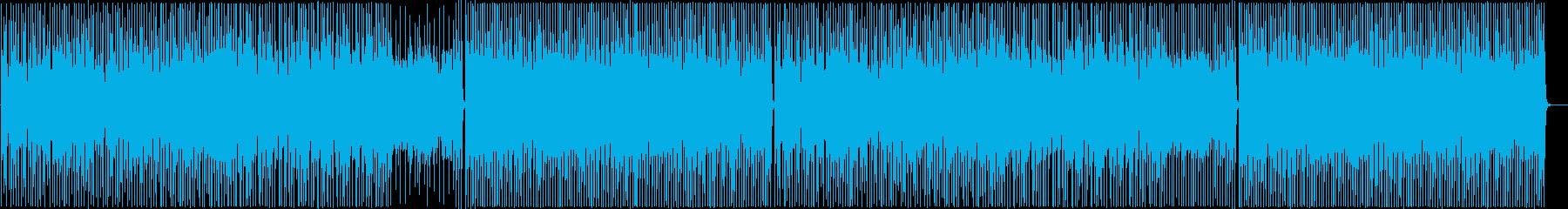 クラップとアコギが可愛く楽しいポップスの再生済みの波形