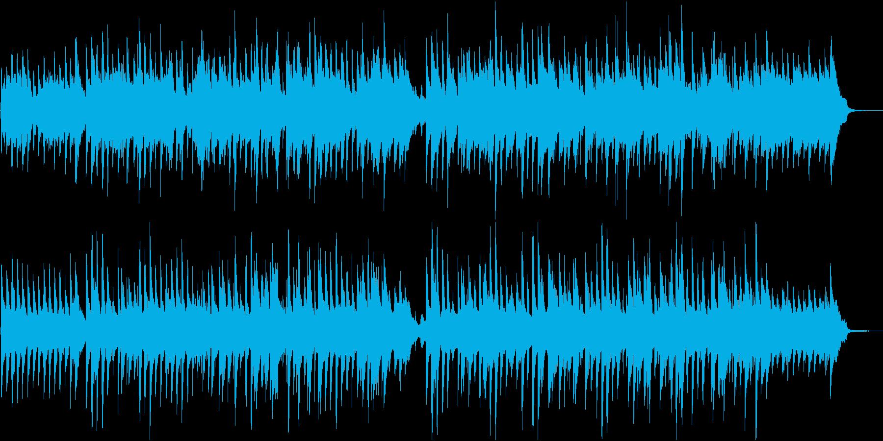 明るくほがらかなピアノポップスの再生済みの波形