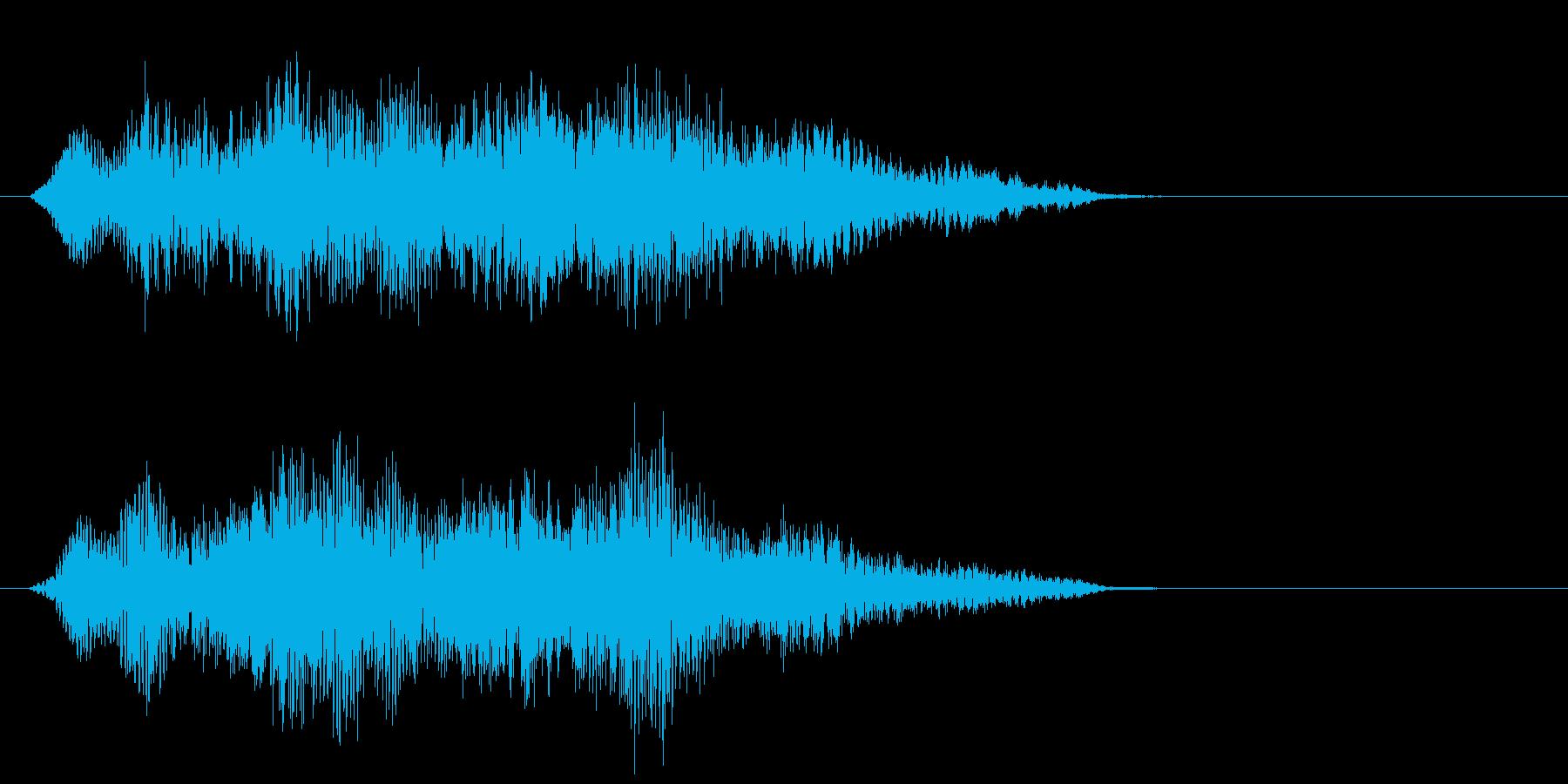 高周波ヒューシュ付き磁気磁気フィー...の再生済みの波形