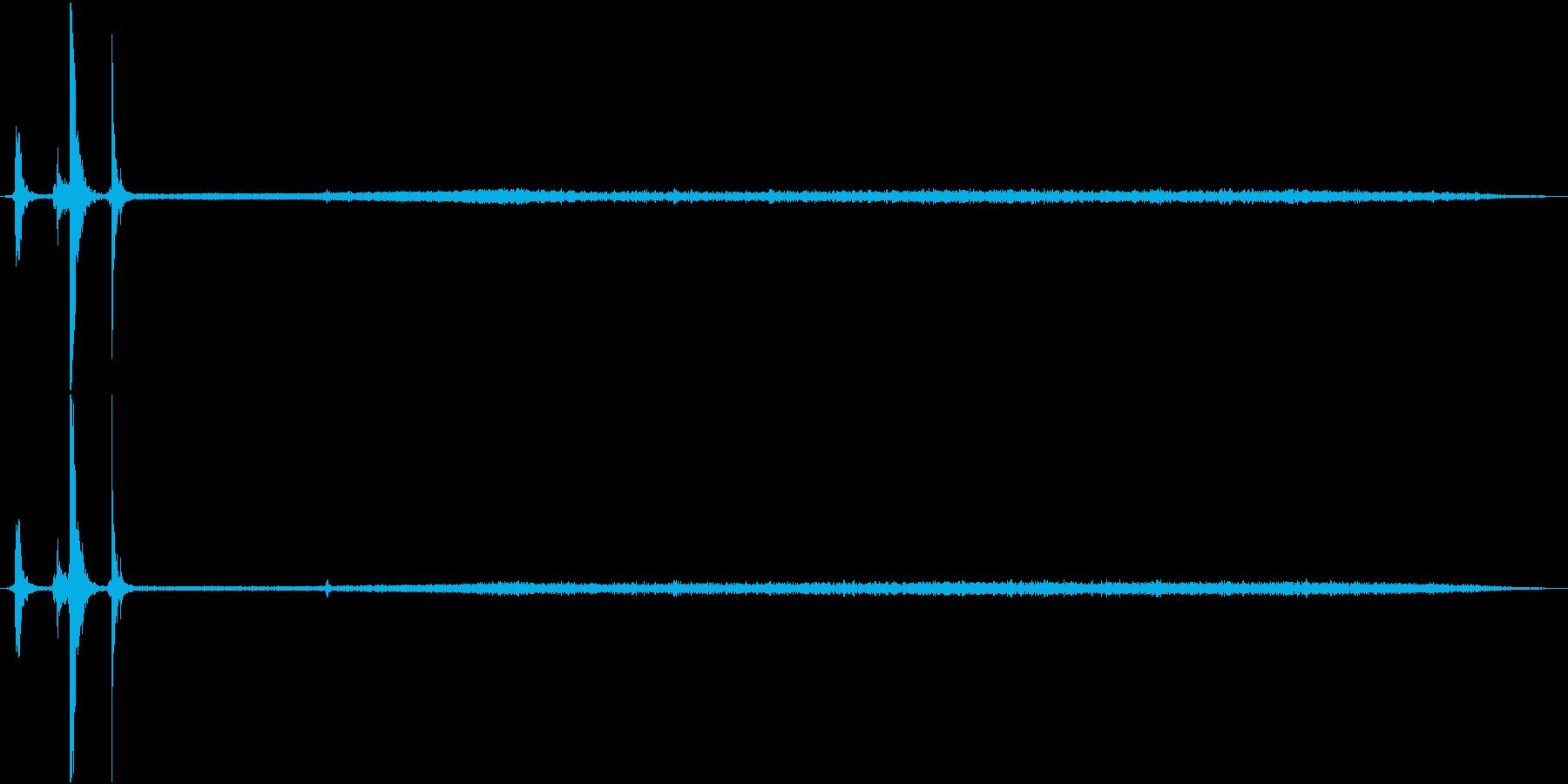 【生録音】換気扇を回す音の再生済みの波形