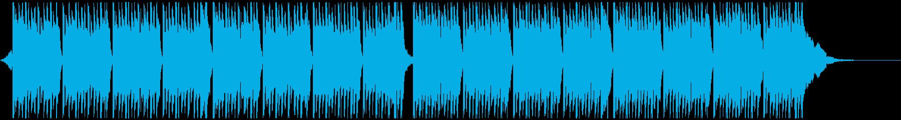 レーシング(45秒)の再生済みの波形