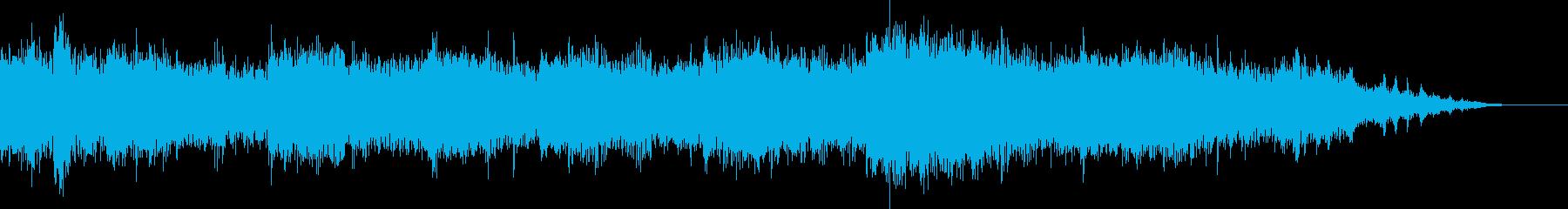 夏を感じるBGMの再生済みの波形