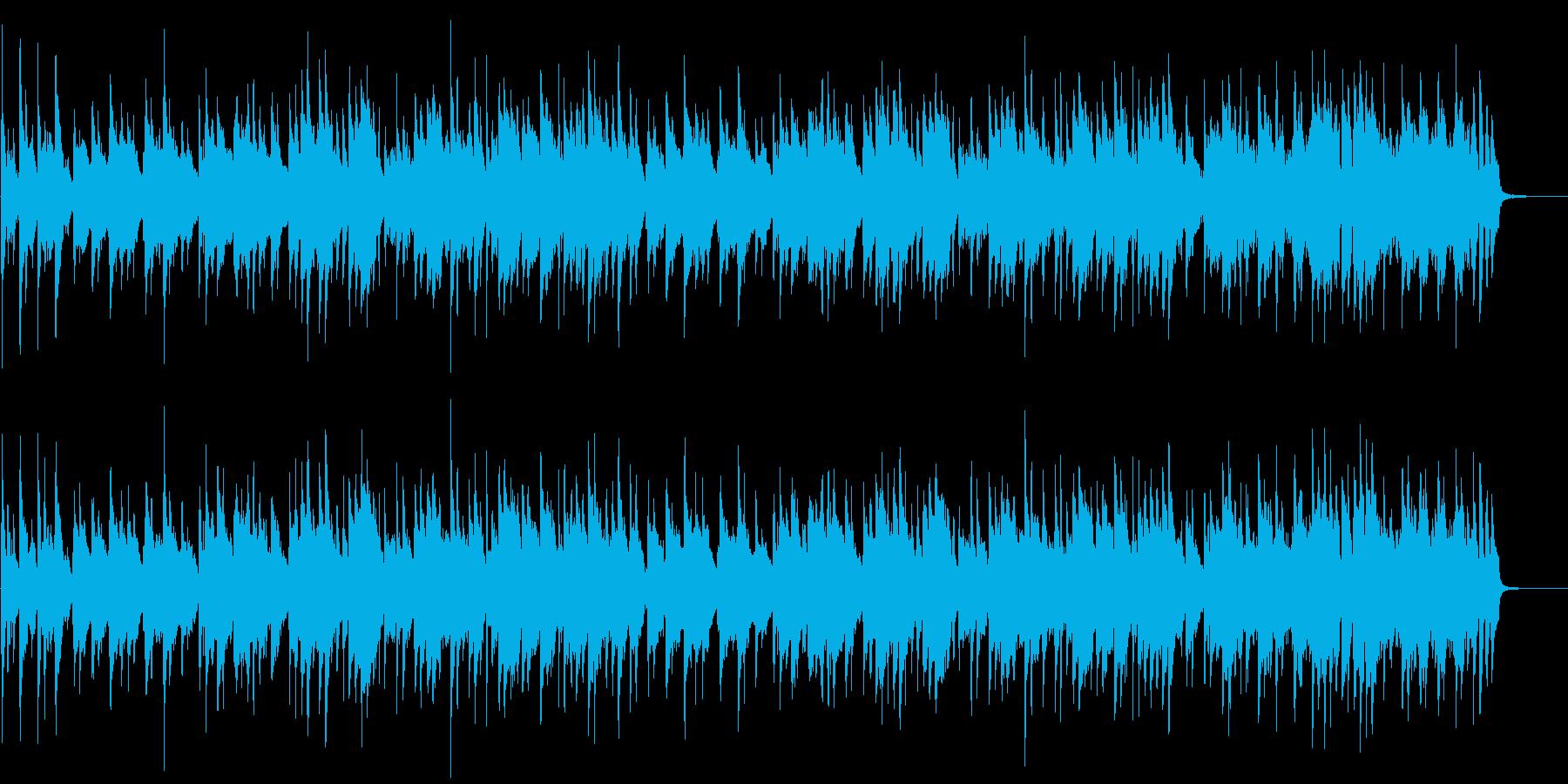 華やかでおしゃれなジャズワルツの再生済みの波形