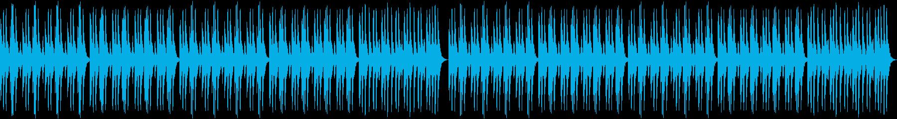 軽快なピッコロとバイオリンのピチカートの再生済みの波形