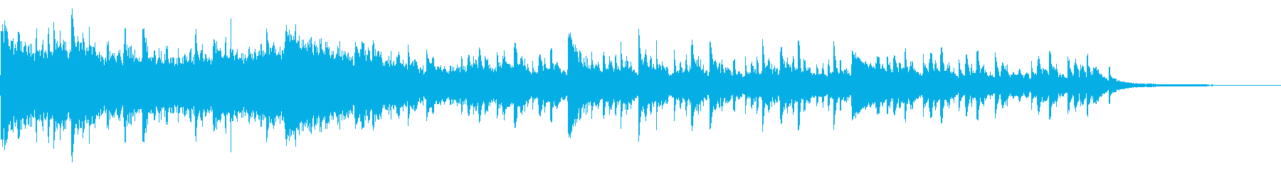 Horror / Creepy Piano BGM's reproduced waveform