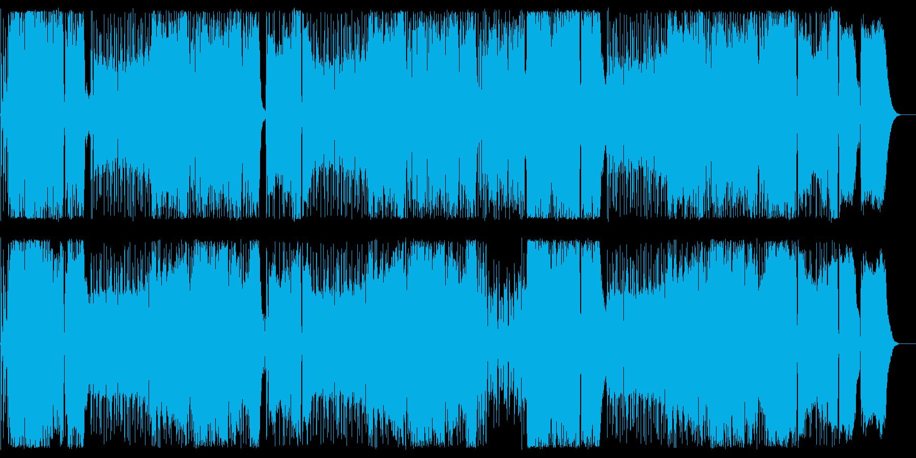 昭和を感じる演歌調Rockの再生済みの波形