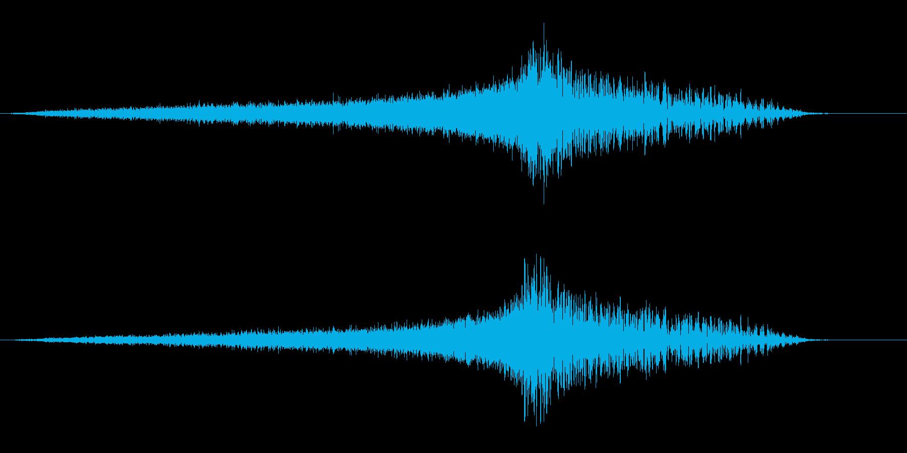 緊張感のあるライザー&インパクト1 の再生済みの波形