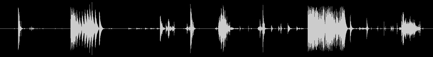 体 ギャグ03の未再生の波形