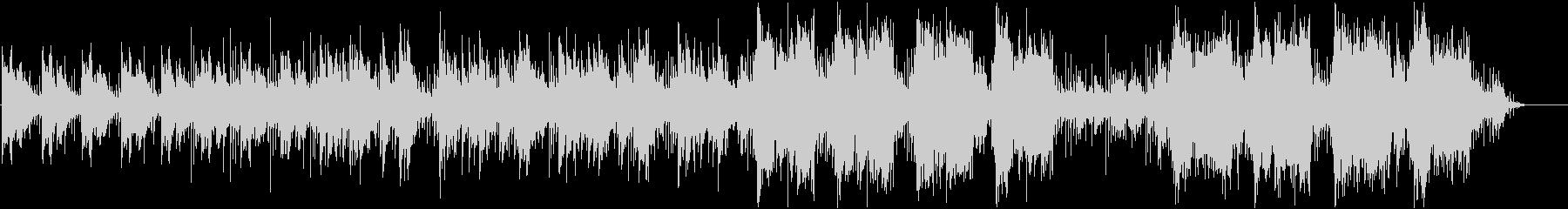 神秘的なヒーリングBGMミュージックの未再生の波形