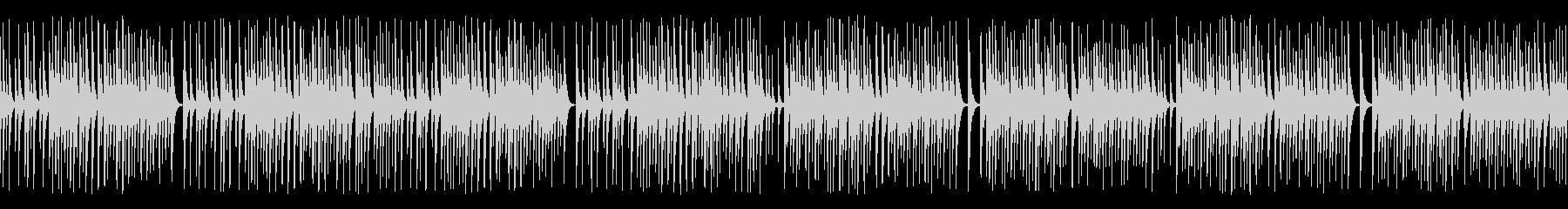 木琴がコミカルで可愛いジャズ名曲(ループの未再生の波形