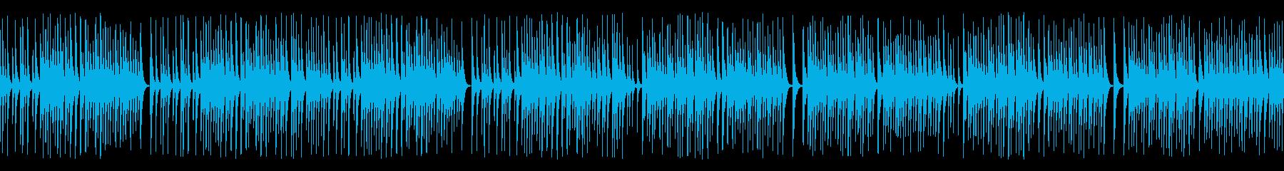 木琴がコミカルで可愛いジャズ名曲(ループの再生済みの波形