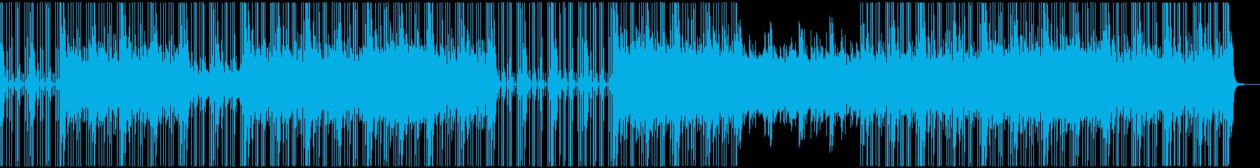 ダークなHIPHOP系トラックの再生済みの波形
