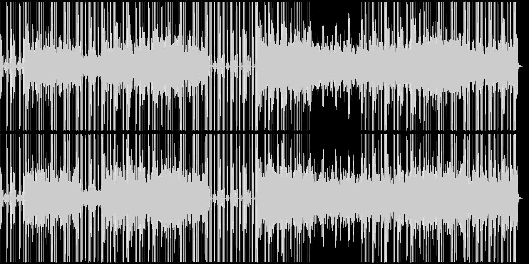 暗い雰囲気のHipHopトラックの未再生の波形