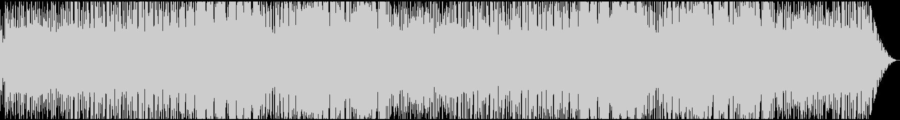 ハードボイルド~逃走~緊迫感なジャズの未再生の波形