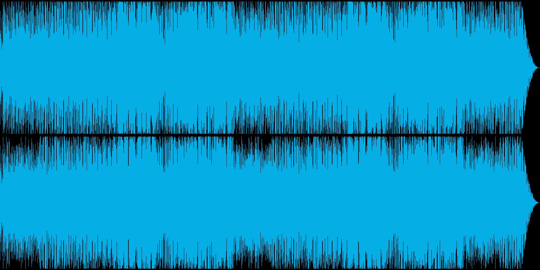 ハードボイルド~逃走~緊迫感なジャズの再生済みの波形