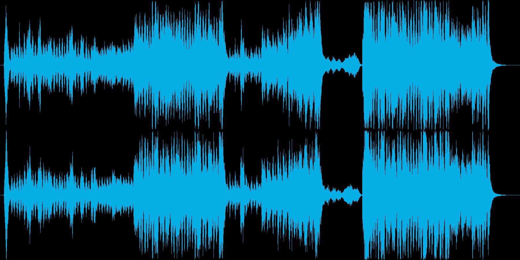壮大で間抜けなオーケストラマーチの再生済みの波形