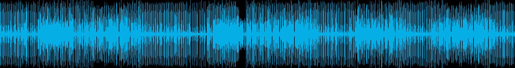 ファンク!!! の再生済みの波形