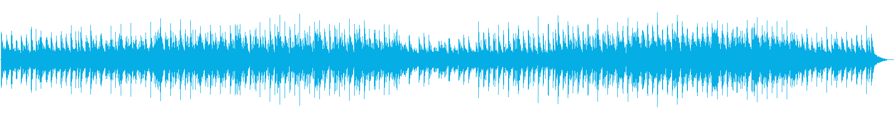 秋の夜の心落ち着くアコギBGMの再生済みの波形